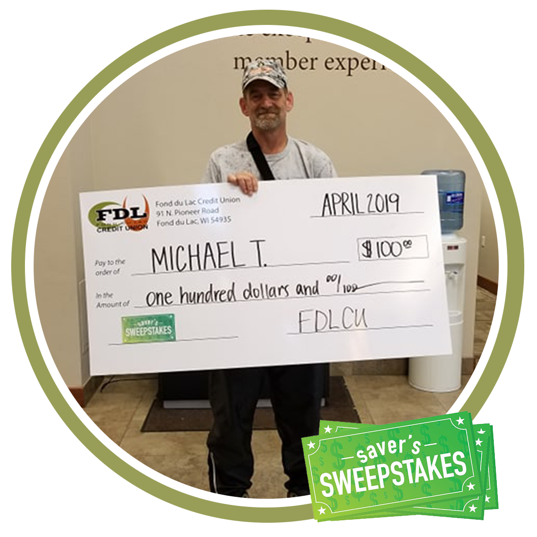 April 2019 Saver's Sweepstakes Winners - FDLCU